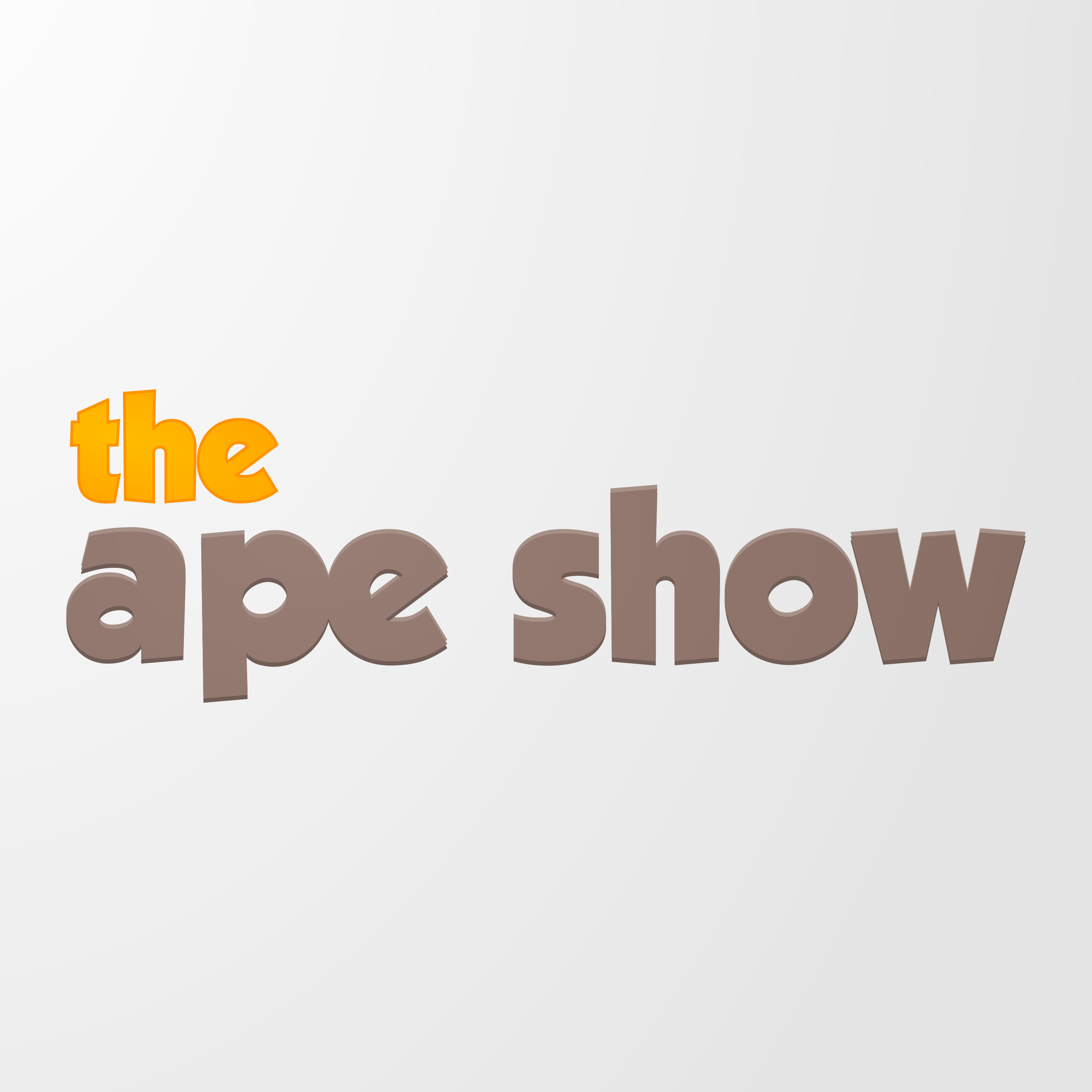 EP0 - Welcome to The Ape Show